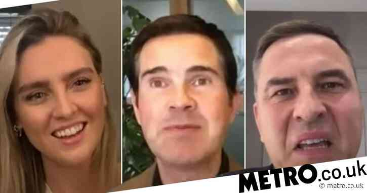 David Walliams and Little Mix star Perrie Edwards pranked into auditioning for fake Borat movie