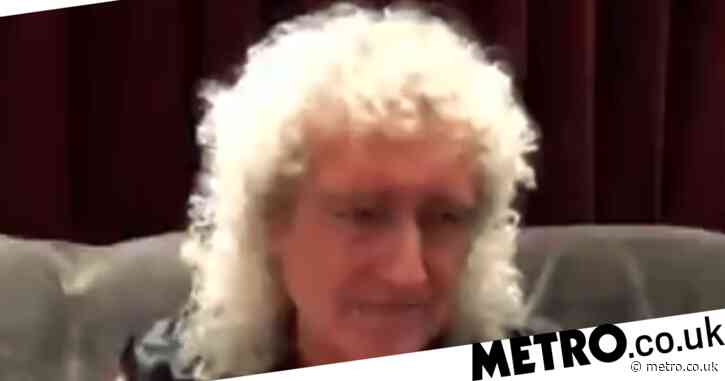 Queen's Brian May 'grateful to be alive' after heart attack and stomach explosion