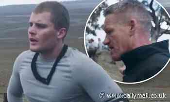 Jackson Warne suffers a physical breakdown during a gruelling SAS Australia challenge
