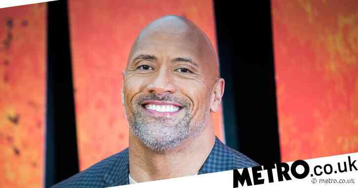Dwayne Johnson left bleeding after smacking himself in the face with 50lb chain – but walks it off like an absolute champ