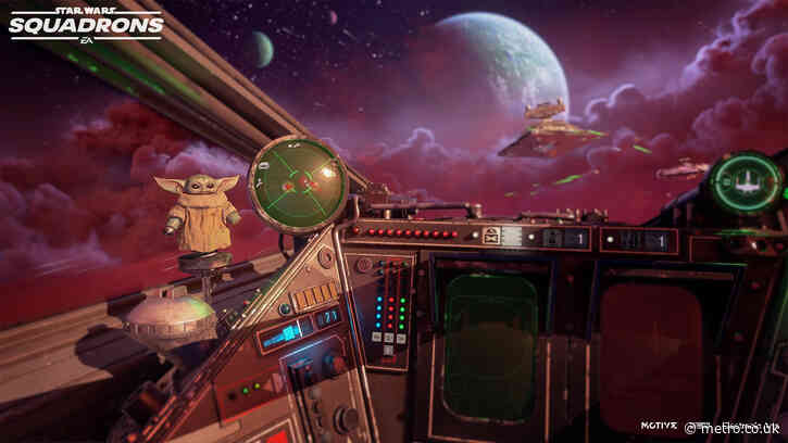 Star Wars: Squadrons is getting free Mandalorian DLC, includes Baby Yoda bobblehead