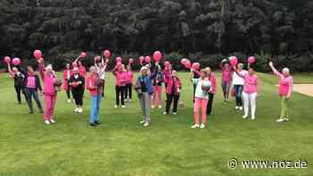 Golf spielen, spenden und Zeichen gegen Brustkrebs setzen - NOZ