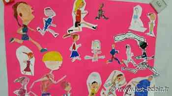 Une illustratrice à l'école de Chappes - L'Est Eclair