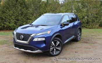 Nissan Rogue 2021: belle amélioration