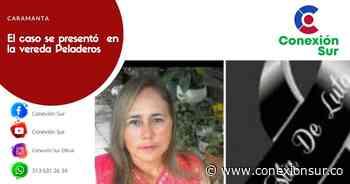 Indignación por feminicidio en Caramanta - ConexionSur