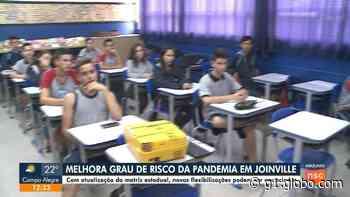 Joinville e Blumenau anunciam que aulas presenciais não voltam no ensino fundamental municipal nesta segunda - G1