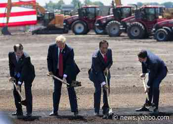 Two years after Trump put a shovel in the ground, Wisconsin is still waiting on Foxconn to come through