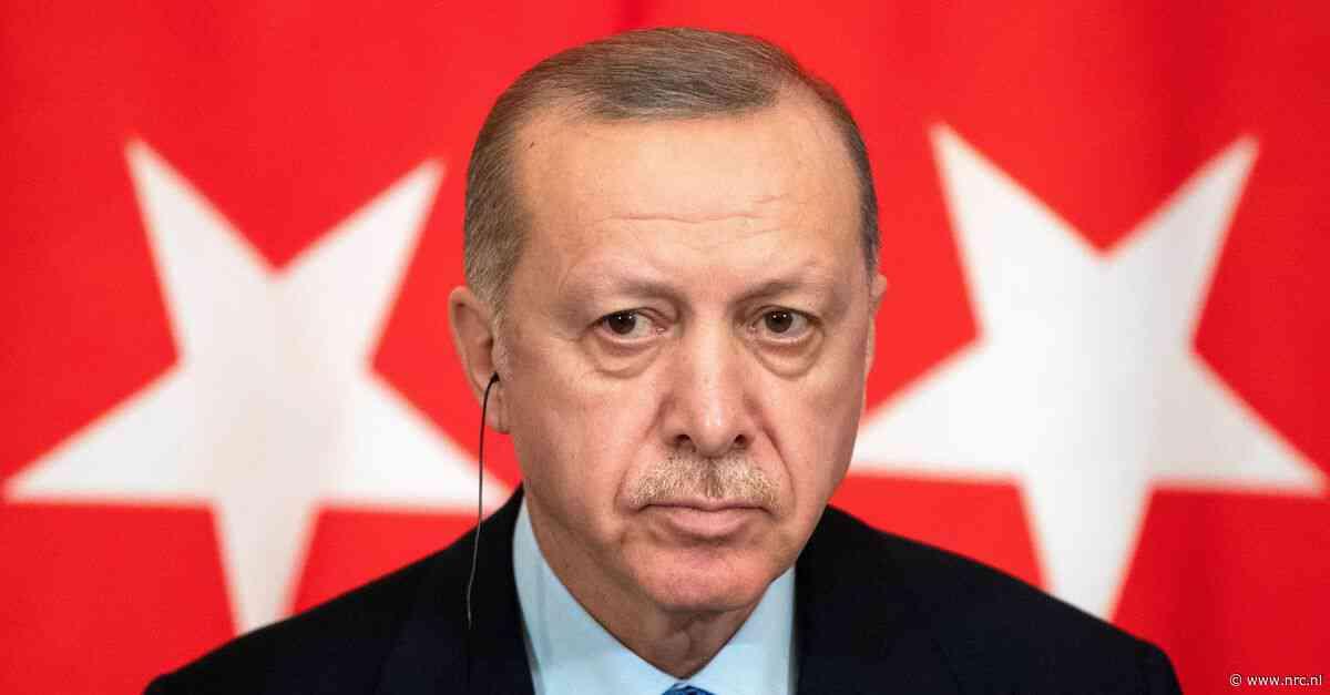 Turkse president Erdogan doet aangifte tegen Geert Wilders om spotprent - NRC