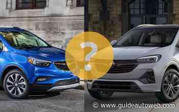 Différence entre un Buick Encore et un Encore GX?