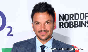 Peter Andre shares very rare video of all four of his children