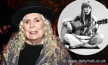 Joni Mitchell, 76, reveals she is still struggling to walk five years after her brain aneurysm
