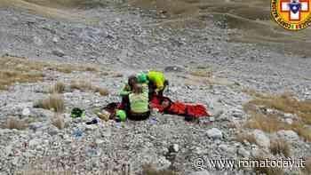 Escursionista romano precipita per 50 metri a Campo Imperatore, è grave