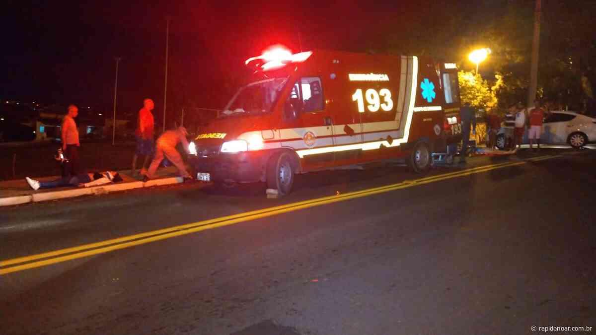 Motociclistas sofrem quedas na mesma avenida em Limeira - Rápido no Ar