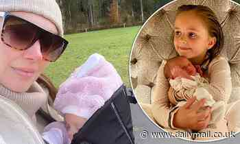 Tamara Ecclestone shares first pictures of baby Serena one month after giving birth