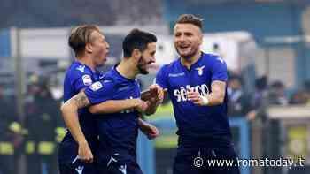 Lazio, emergenza Champions: restano a casa Immobile, Luis Alberto, Lazzari e Anderson