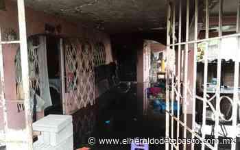 Presunto corto 'chamusca' casa en Huimanguillo - El Heraldo de Tabasco