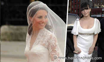 Celebrity brides who wore Alexander McQueen like Kate Middleton
