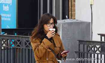 Jenna Coleman fuels up on coffee as the home she shared with ex Tom Hughes goes on the market