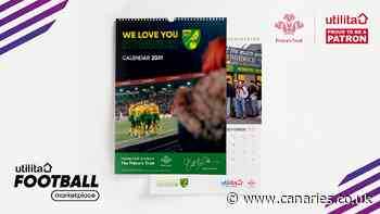 Utilita / Norwich City FC calendar available now!