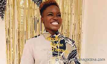 Nicola Adams' extravagant two-tier Strictly birthday cake is a work of art