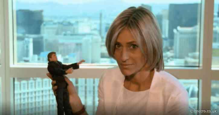 Emily Maitlis documentary uncovered Donald Trump doll warning against hand-shaking 10 years before coronavirus