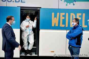 Made in Meetjesland: de eerste sneltestbus van Vlaanderen