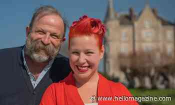 Escape to the Chateau stars Dick and Angel Strawbridge's beautiful new project revealed