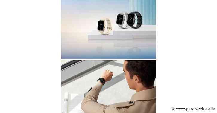 Relógios inteligentes Amazfit GTR 2 e Amazfit GTS 2 clássicos e modernos para estilos de vida ativos são adequados para todos os looks com uma ampla variedade de recursos de saúde
