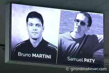 Le staff des Girondins de Bordeaux était aux obsèques de Bruno Martini - Girondins4Ever
