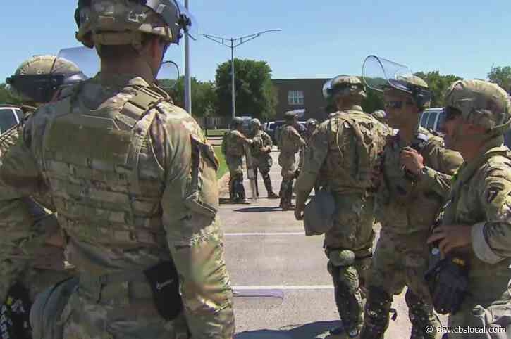 Texas National Guard Prepared To Send 1K Troops To DFW For Possible 'Disturbances' After Election Day