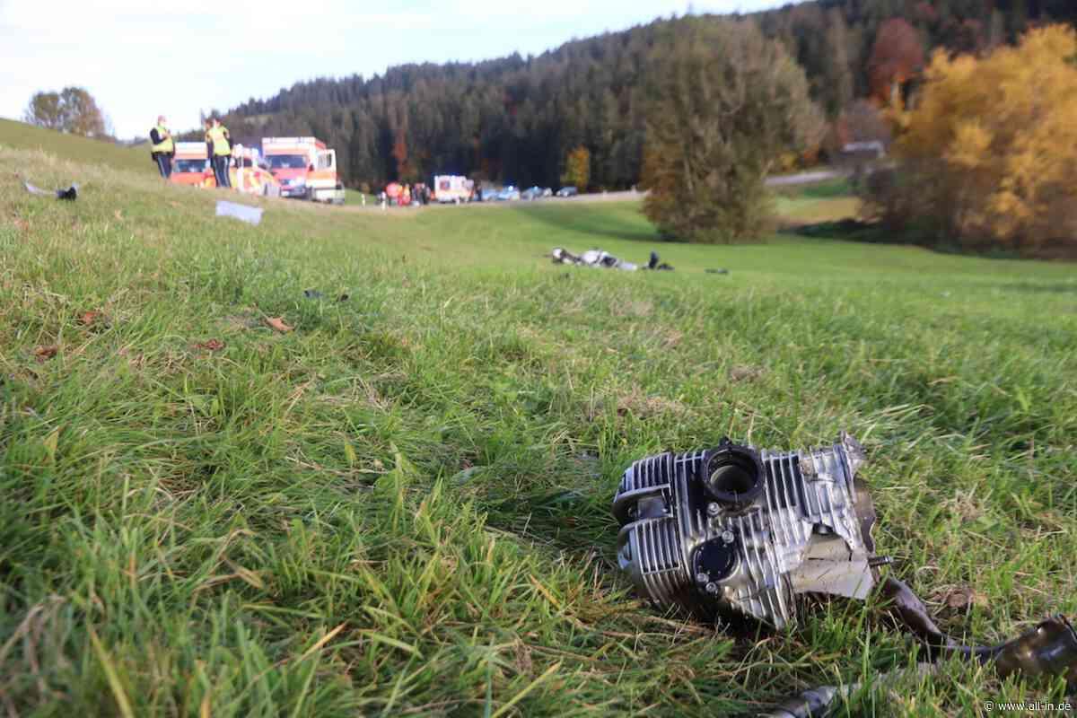 Schwerer Unfall: Ein Toter und zwei Verletzte: Wohnmobil prallt bei Oberstaufen frontal in Motorrad - Oberstaufen - all-in.de - Das Allgäu Online!