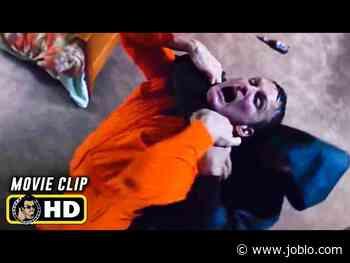 UNBREAKABLE Clip - Orange Man Fight (2000) Bruce Willis - JoBlo.com