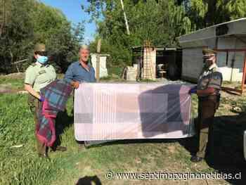 Carabineros entrega colchones y kits sanitarios en Linares y San Javier - Septima Pagina