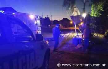 Tragedia en San Javier: motociclista murió al impactar con un basurero - EL TERRITORIO