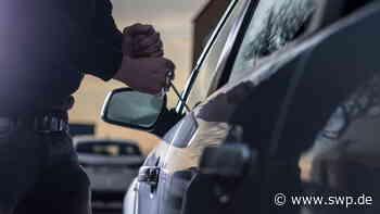 Diebstahl in Salach: Kleinbus von Firmenparkplatz gestohlen - SWP