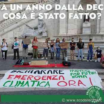 Roma, Fridays For Future: 'Risposte totalmente insufficienti dalla città su clima, rifiuti, mobilità sostenibile - Eco dalle Città