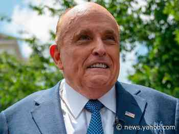 Rudy Giuliani had a security officer sweep the room where he was filmed in 'Borat 2,' but he didn't find Sacha Baron Cohen hiding in a wardrobe