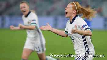 Shiels hails 'Northern Ireland spirit' as 10-women side overcome Belarus