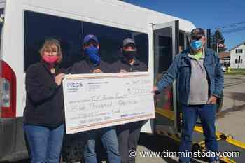 Iroquois Falls transit charity gets $5K boost - TimminsToday
