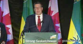 Scott Moe speaks on Saskatchewan Party's election victory