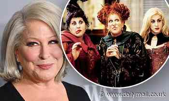 Hocus Pocus: Bette Midler says co-stars all agreed to be in sequel