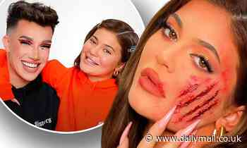 Kylie Jenner and makeup artist James Charles create Halloween look
