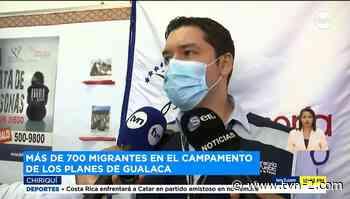 Noticias 700 migrantes haitianos permanecen en el albergue Los Planes de Gualaca - TVN Panamá