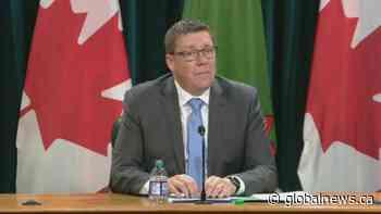 Coronavirus: Saskatchewan Premier Moe urges people to reevaluate conduct amid rise in cases