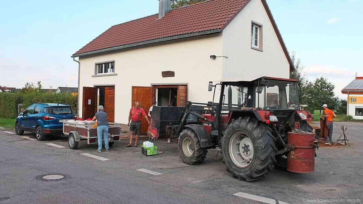 Donaueschingen: Apfelsaft wird individuell gepresst - Donaueschingen - Schwarzwälder Bote