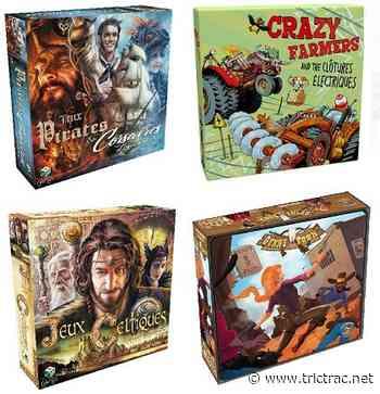 4 nouveaux jeux de plateau fabriqués à Villebon sur Yvette ! - Tric Trac