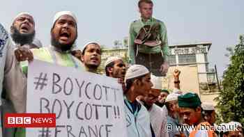 Huge Bangladesh rally calls for boycott of French products