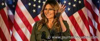 Première réunion de campagne, en solo, pour Melania Trump