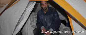 Vivre sous une tente depuis six ans, même en hiver