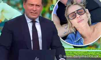 Karl Stefanovic takes a cheeky dig at Michael Clarke over his high-profile romance with Pip Edwards
